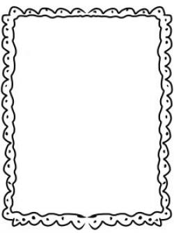 Frame clipart doodle