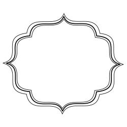 Curve clipart decorative bracket