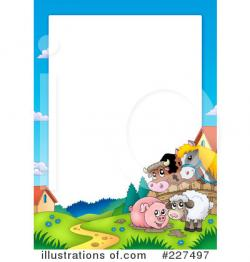 Frame clipart farm animal
