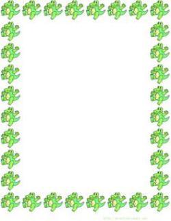 Frame clipart frog