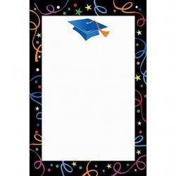 Graduation clipart boarder