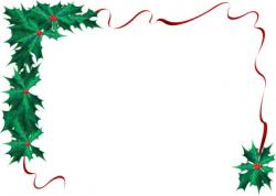 Frame clipart holiday