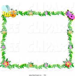 Frame clipart insect