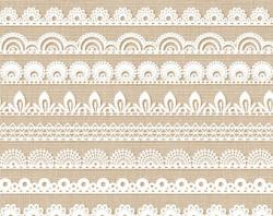 Frame clipart lace