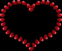 Romance clipart open heart