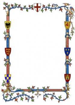 Frame clipart medieval