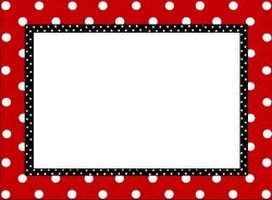Frame clipart mickey mouse