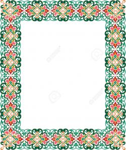 Frame clipart moroccan