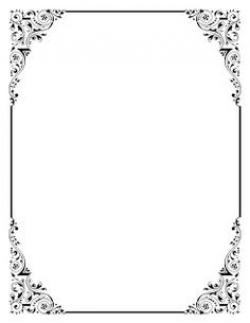 Frame clipart old fashioned