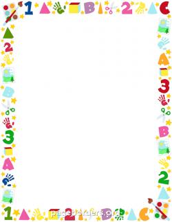 Frame clipart preschool