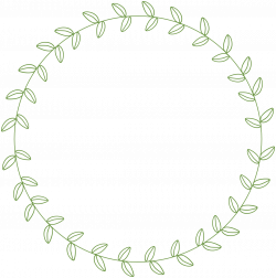 Line clipart circle
