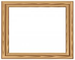 Frame clipart wood