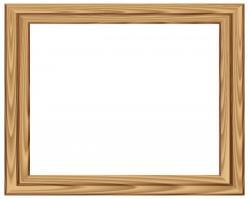 Frame clipart wood