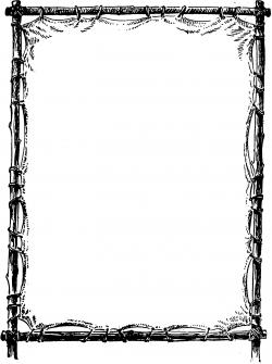 Gothc clipart elegant page
