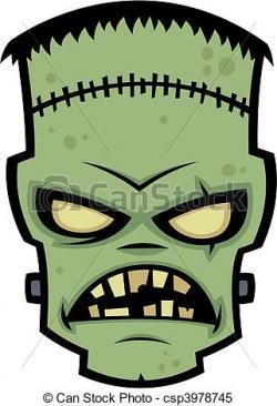 Frankenstein clipart mouth