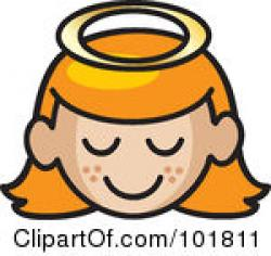 Freckles clipart angel face