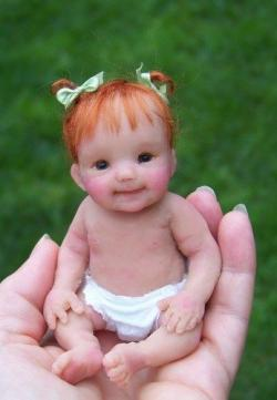 Freckles clipart baby doll