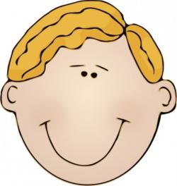 Freckles clipart boy head