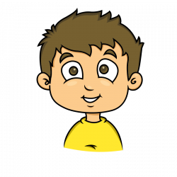 Freckles clipart calm kid