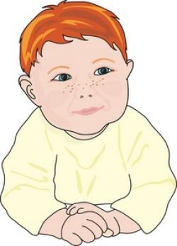 Freckles clipart ginger hair