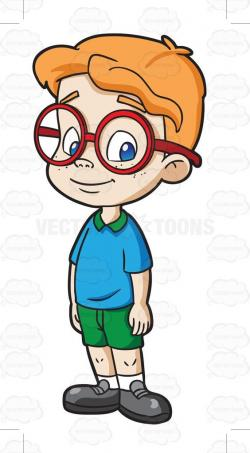 Freckles clipart preschool boy