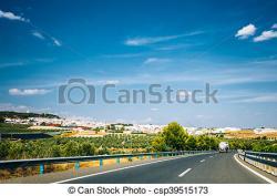 Freeway clipart asphalt