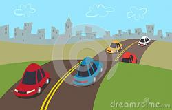 Freeway clipart cartoon