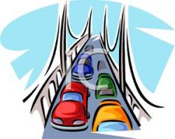 Freeway clipart motorway