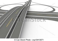 Overpass clipart freeway