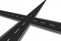 Freeway clipart road intersection