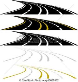 Freeway clipart road marking