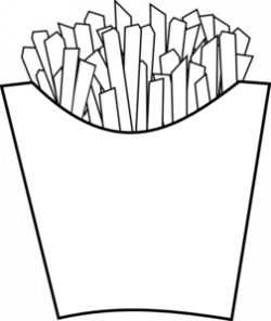 McDonald's clipart black and white