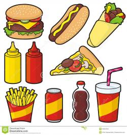 French Fries clipart unhealthy food