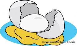 Fried Egg clipart broken egg