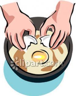 Fried Egg clipart crack egg