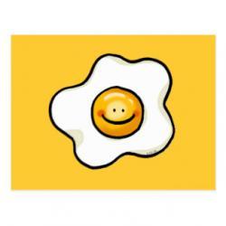Fried Egg clipart cute egg