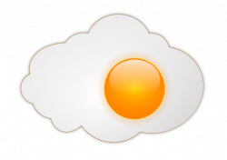 Fried Egg clipart perfect