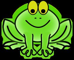 Bullfrog clipart frog head