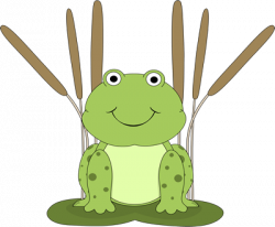 Tadpole clipart frog lily pad