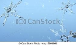 Frost clipart snow crystal