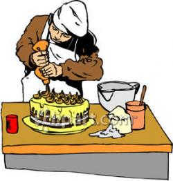 Icing clipart cake baker