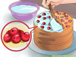 Icing clipart cake making
