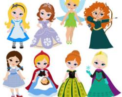 Princess clipart disney frozen