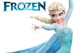 Frozen clipart name tag