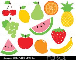 Fruits & Vegetables clipart fruit salad