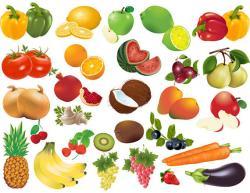 Vegetables clipart fruite
