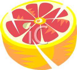 Grapefruit clipart grapefruit slice