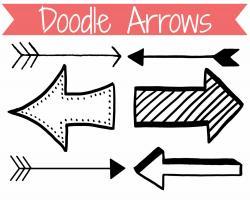 Funky clipart arrow