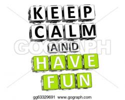 Fun clipart calm
