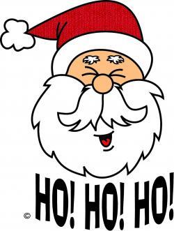 Weird clipart santa
